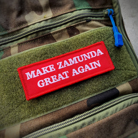 Make Zamunda Great Again Morale Patch