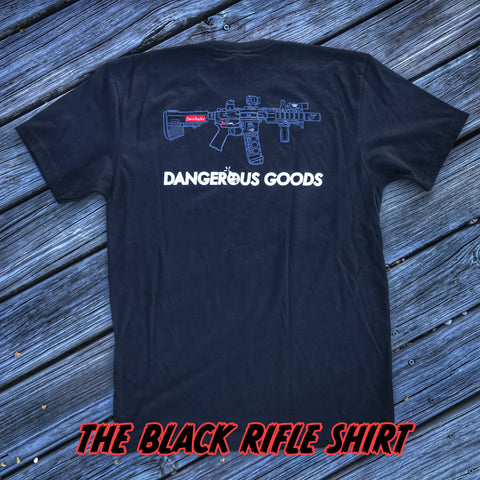 ZFD x Dangerous Goods SBR T-Shirt - Black
