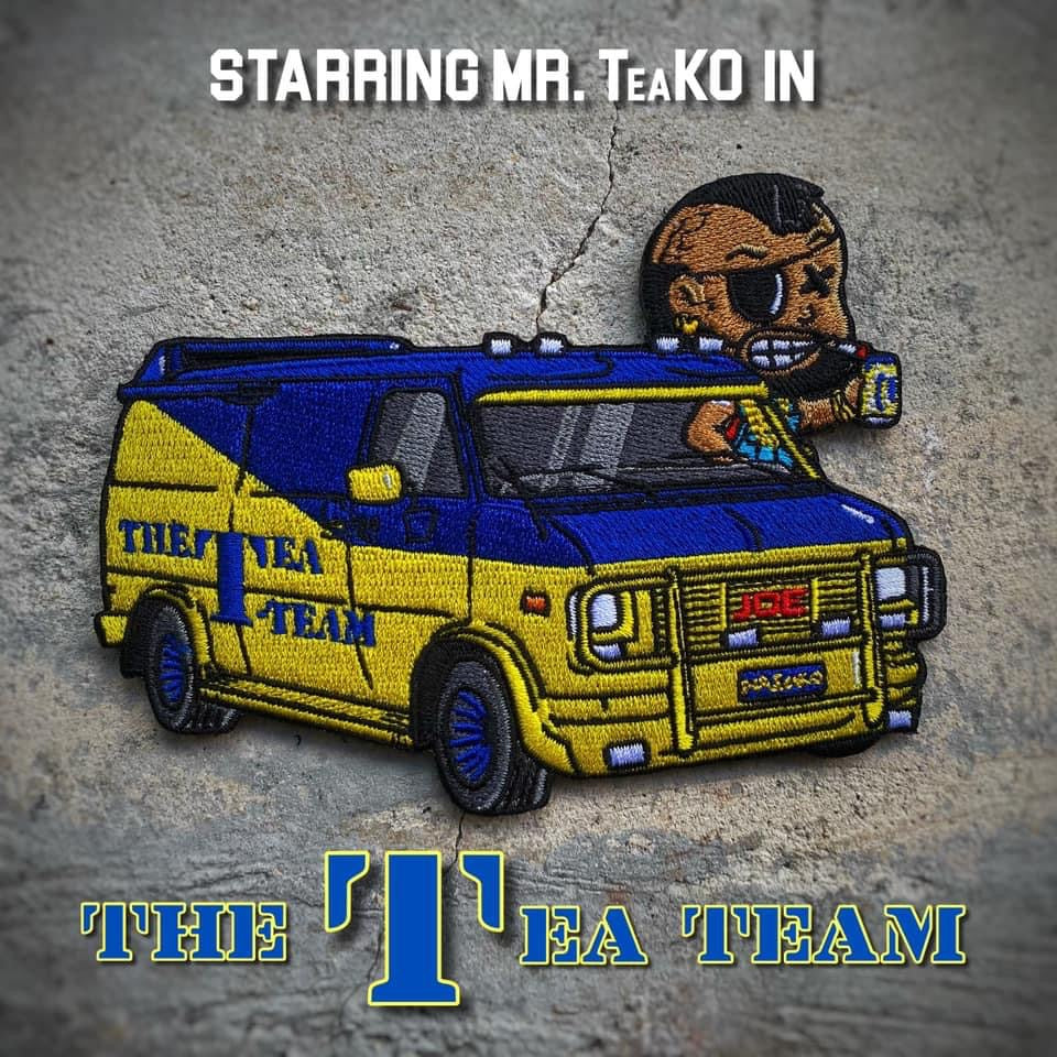 "Danger Joe™️ Mr. TeaKO ""The Tea Team"" Twisted Van Patch"