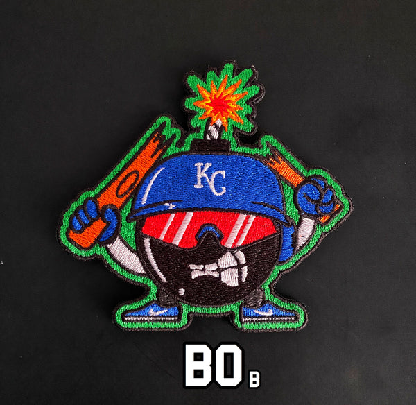 "ZERO FUCKS BOB ""ZFB"" BOb Breaker Baseball Morale Patch"