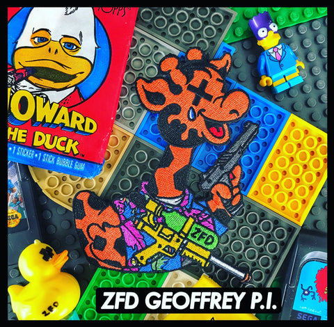 ZFD GEOFFREY P.I. TRIBUTE MORALE PATCH