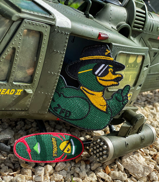 ZFD Kilgore Air Cav Duck & Surfboard Two Patch Set