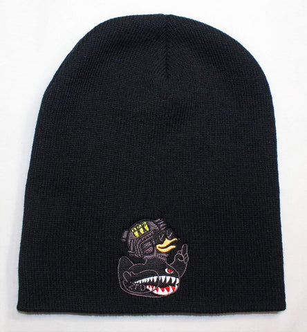 ZFD Classified Series Black Beanie Hat