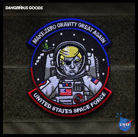 President Donald Trump USSF Space Force Morale Patch
