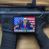 Donald Trump 2A From My Cold Dead Hands Morale Patch