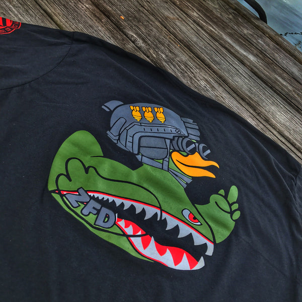 Zero Fucks Duck ZFD Operator T-Shirt - Flying Tigers
