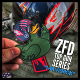 "ZERO FUCKS DUCK ""ZFD"" MORALE PATCH - TOP DUCK SERIES"