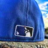 ZERO FUCKS BASEBALL WILD DUCK FLEX-FIT HAT - ROYALS BLUE