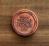 ZERO FUCKS DUCK PENNY CHALLENGE COIN - IN DUCK WE TRUST