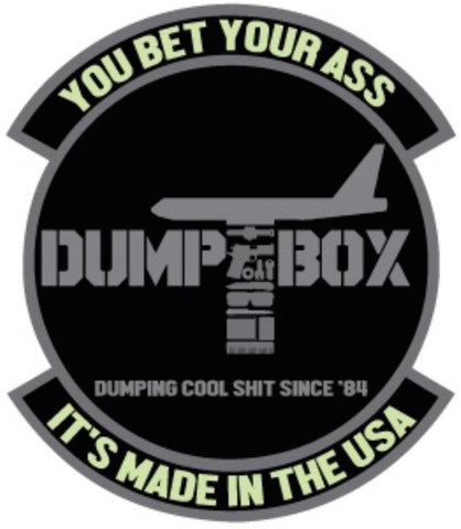 DUMP BOX FIGHTER SQUADRON STICKER