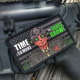 """ ALL NEW "" A DUMP BOX ORIGINAL MAD DOG MATTIS ""TIME TO MAKE THE GRASS GROW"" MARINES MORALE PATCH"