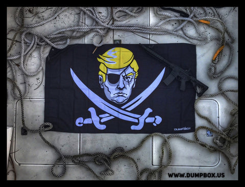 President Trump 'Calico Trump' Pirate Flag - 3' x 5'
