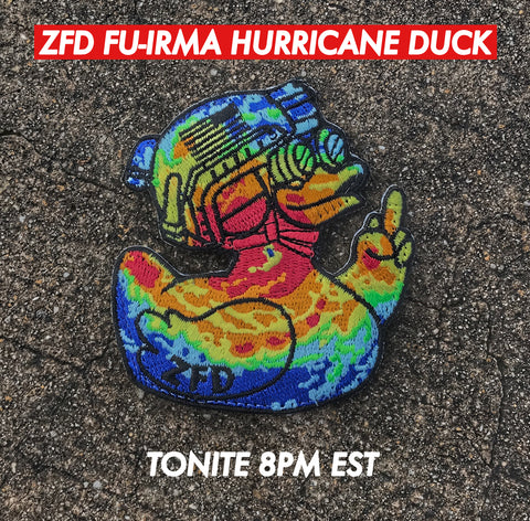 ZERO FUCKS DUCK MORALE PATCH: FU-IRMA EDITION