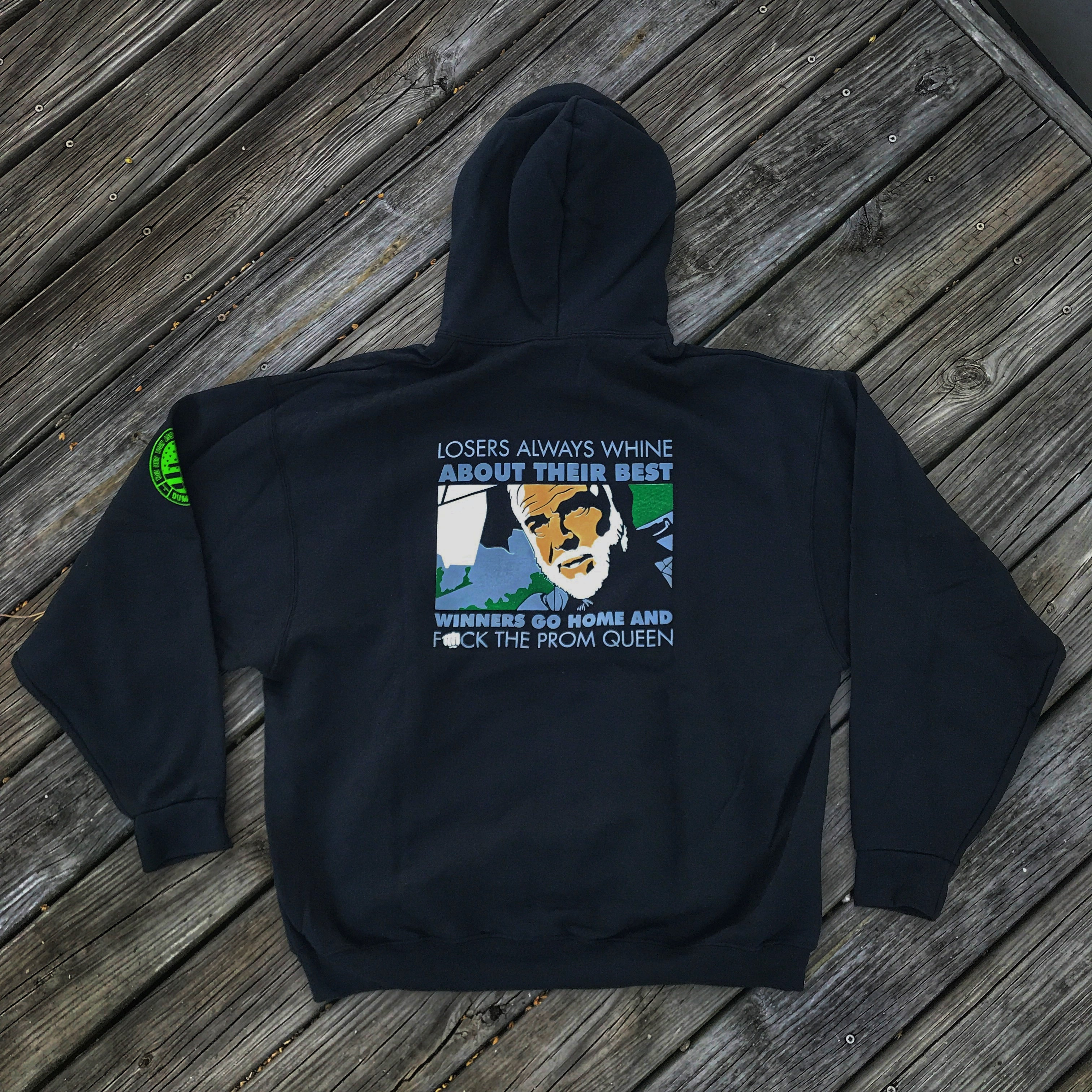 "THE ROCK ""LOSERS ALWAYS WHINE ABOUT THEIR BEST"" HOODIE"
