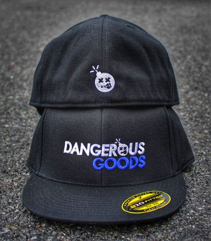 DANGEROUS GOODS™ 2 FLAT BILL FLEX FIT HAT