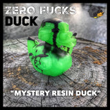 ZERO FUCKS DUCK ZFD LIMITED EDITION RESIN DUCK - V1 (RETIRED)