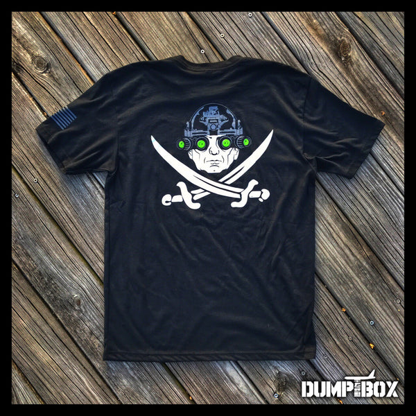 "CALICO ""MAD DOG"" MATTIS SECDEF SERIES PIRATE T-SHIRT"