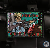 "A Christmas Story ""You'll Shoot Your Eye Out Kid"" Morale Patch"