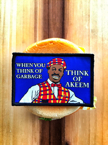 "COMING TO AMERICA ""WHEN YOU THINK OF GARBAGE"" EDDIE MURPHY MORALE PATCH"