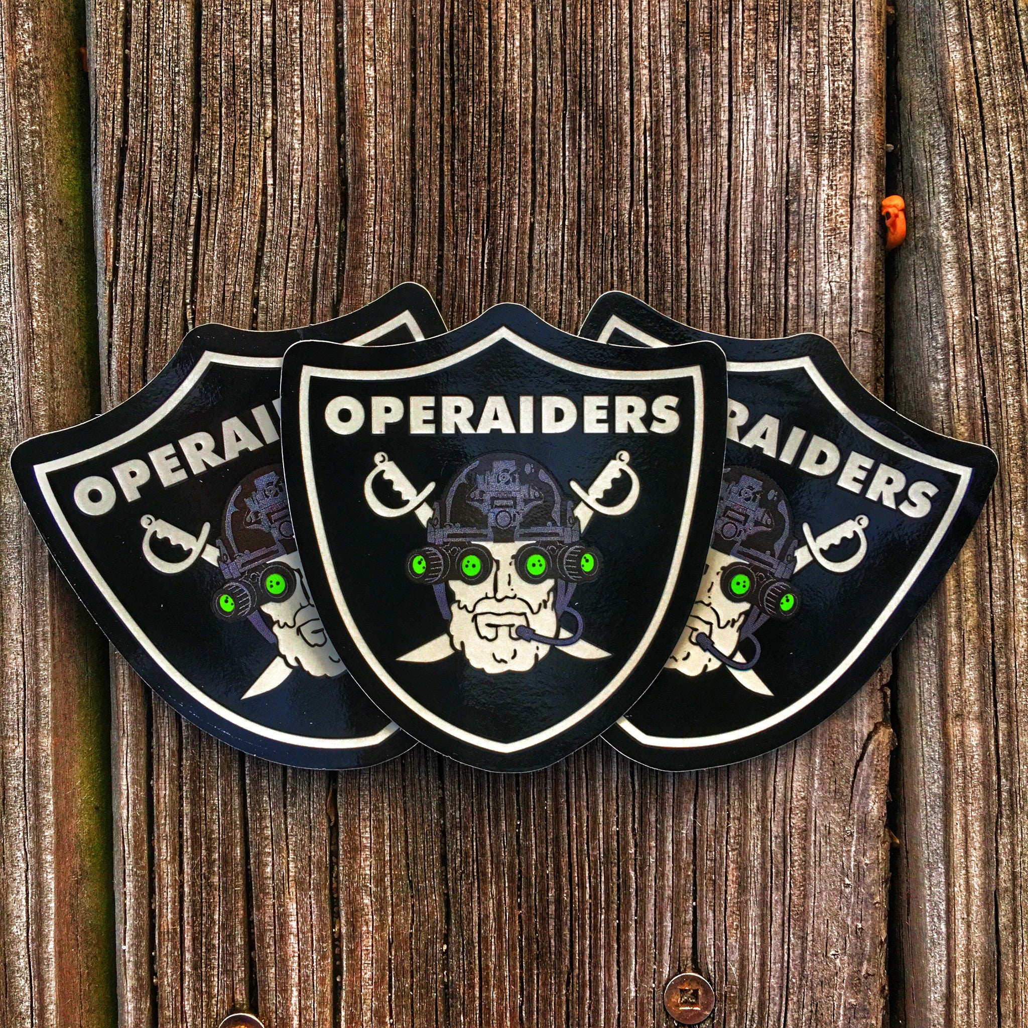 OPERAIDERS NIGHT VISION NVG OPERATOR MILITARY STICKER