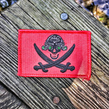 SKULLCRUSHERS JOLLY ROGER NVG FLAGSHIP MORALE PATCH - 3 COLOR OPTIONS