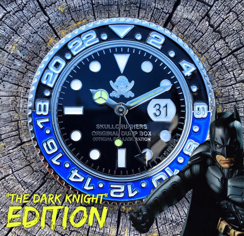 THE DARK KNIGHT EDITION GMT WATCH CHALLENGE COIN - ONLY 50 MADE