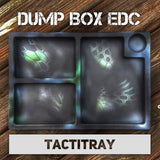 THE DUMP BOX BILLET ALUMINUM EDC VALET TACTITRAY