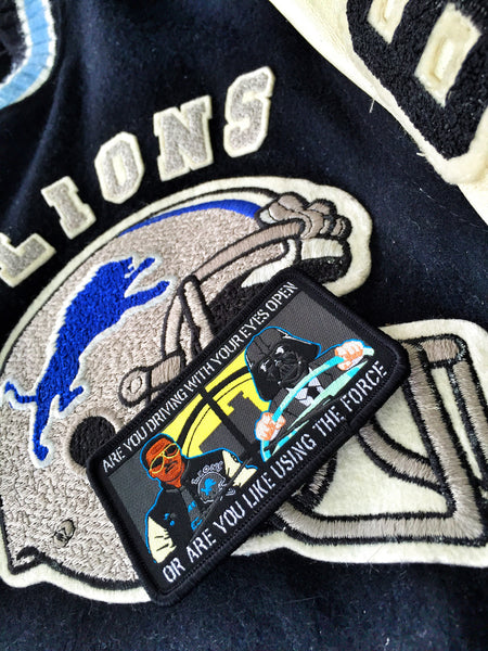 DET. AXEL FOLEY AND DET BILLY ROSEWOOD BEVERLY HILLS COP MORALE PATCH