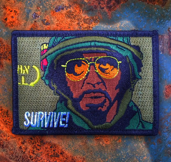 """ALL NEW"" TROPIC THUNDER ""SURVIVE"" LINCOLN OSIRIS MILITARY MORALE PATCH"