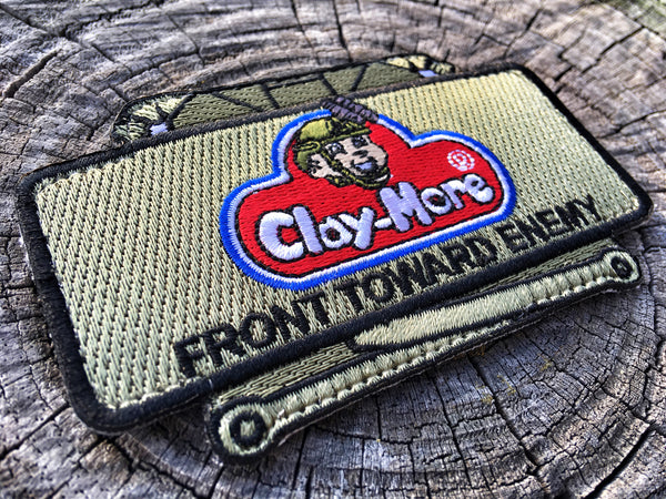 TACTICAL CLAY-MORE PLAY-DOH MORALE PATCH