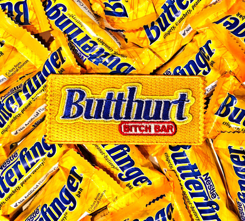 Butthurt Bitch Bar Candy Bar Morale Patch