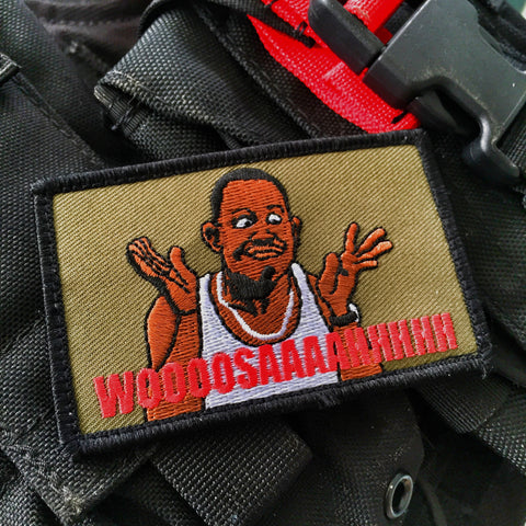 BAD BOYS WOOSAH POLICE MILITARY MORALE PATCH