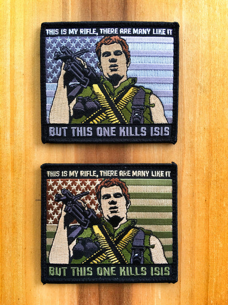 "FULL METAL JACKET ANIMAL MOTHER ""THIS IS MY RIFLE"" MORALE PATCH - 2 COLOR OPTIONS"