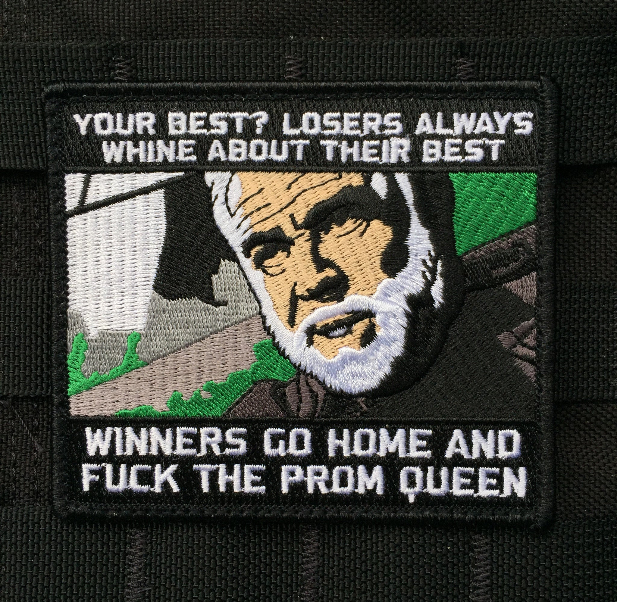 "The Rock ""Losers Always Whine About Their Best"" Morale Patch"