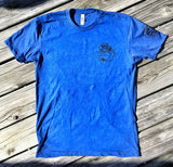 """ ALL NEW "" A DUMP BOX ORIGINAL ZERO FUCKS DUCK ZFD OPERATOR T-SHIRT - DEEP SEA BLUE/BLACK"