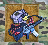 "DUMP BOX ORIGINAL ZERO FUCKS DUCK ""ZFD"" LIMITED EDITION MORALE PATCH - SERIES 1"