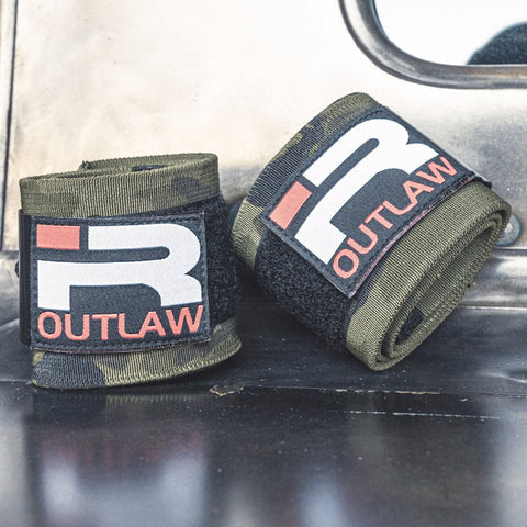 NEW! Outlaw Wrist Wraps (Camo)