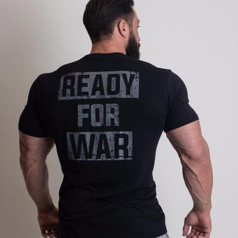 READY FOR WAR - Shirt (Black)