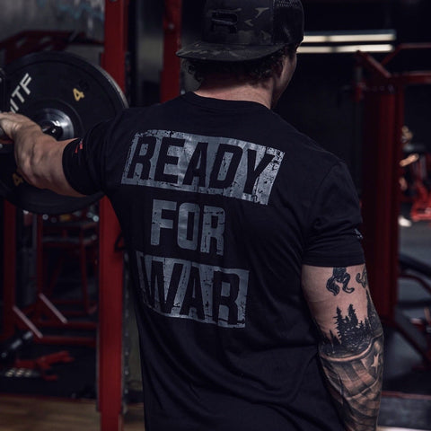 Ready For War Tee (Black)
