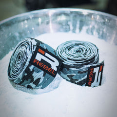 Rebel Knee Wraps (Snow Camo)