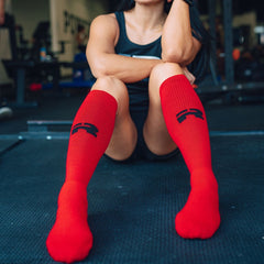 Competition Deadlift Socks (Red)