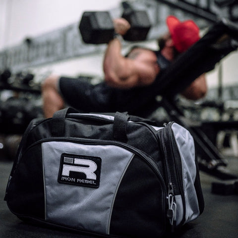 Iron Rebel® Sport Duffel Bag - Silver