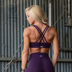 Limitless Sports Bra (Amethyst)