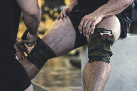 Outlaw Knee Wraps (Camo)