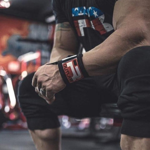 NEW! Outlaw Wrist Wraps (Black)