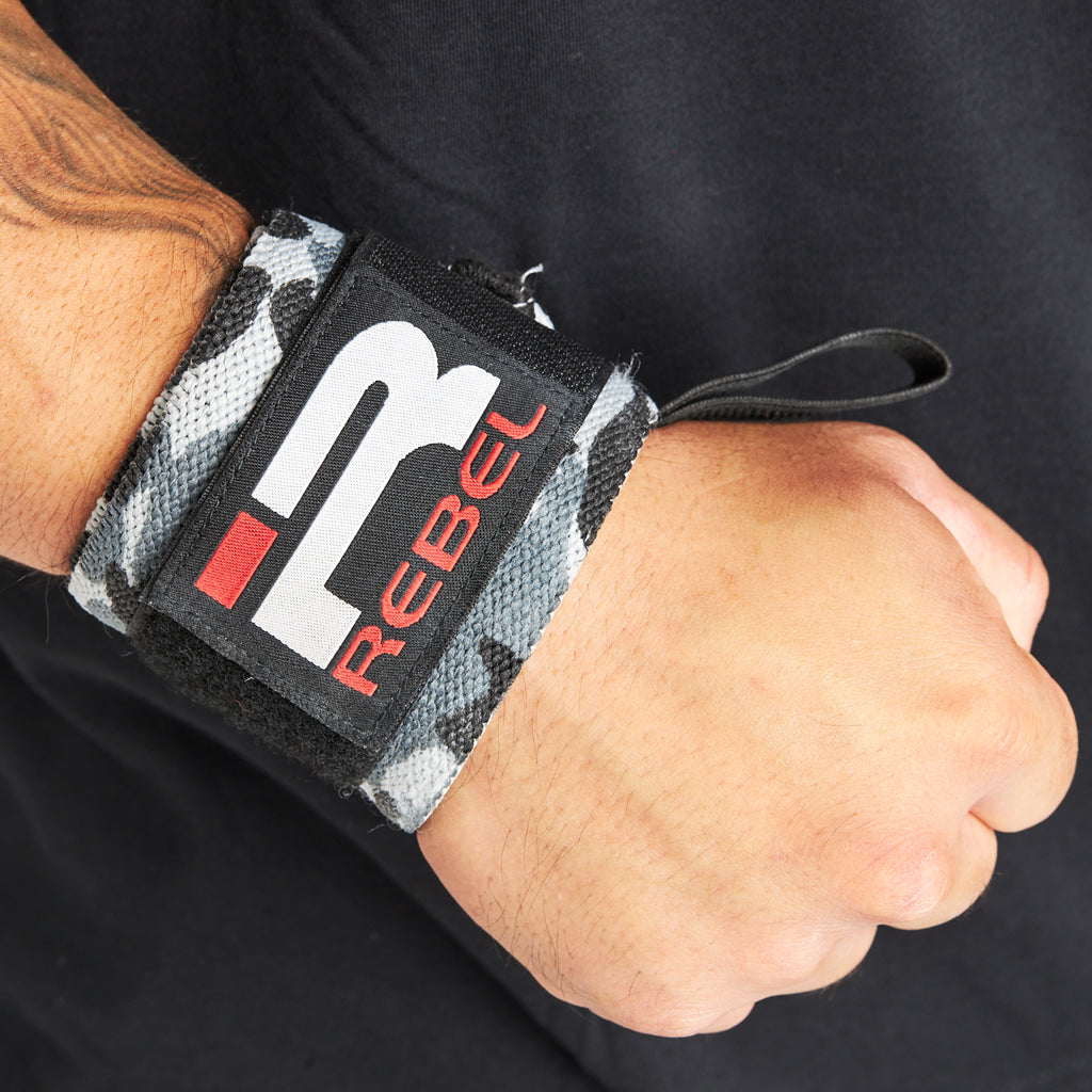 Rebel Wrist Wrap (Snow Camo)