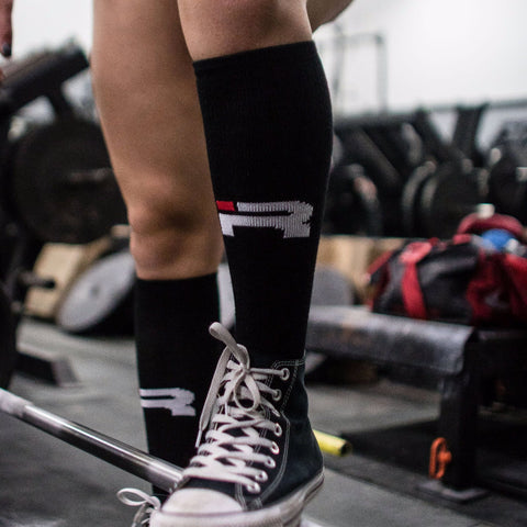 Competition Deadlift Socks (Black)