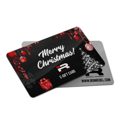 "Iron Rebel® ""Merry Christmas"" Gift Card"