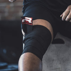 Outlaw Knee Wraps (Black)