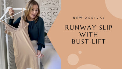 Curve Control Runway Slip with Bust Lift